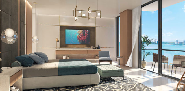 Artist's Rendering of The Abbey Owner's Suite